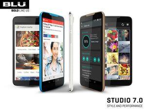Blu Studio 7.0, le phablet est énorme