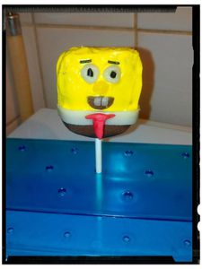 cake pops bob l'éponge
