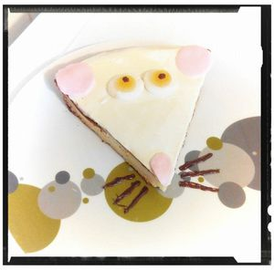 gâteau souris kiri