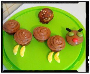 muffins banane honey camille la chenille