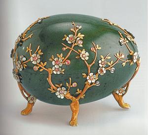 Les œufs de Fabergé