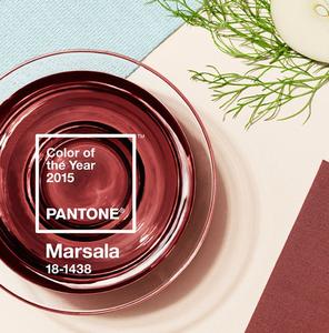 Marsala : la couleur de l'année 2015