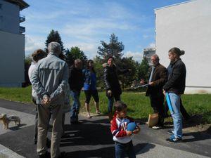 La mobilisation et l'action des habitants du Bois Joli à Chambéry le Haut se poursuivent