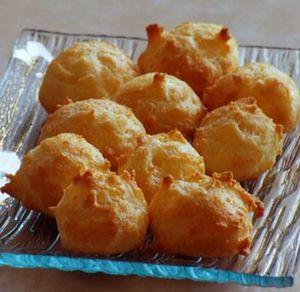 Gougères sucre ou fromage