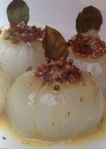 L'oignon farci à l'ottomane, recette d''autrefois stanbouliote