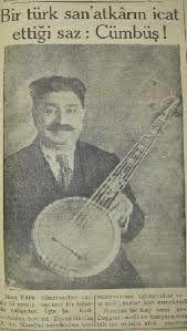 Le cümbüş ( djumbuche ) instrument de musique turc.
