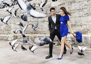 Rouge, bleu , or et cuir  pour vos pieds : Hotiç, chaussure turque