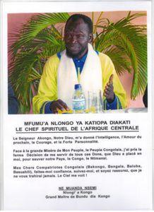 KONGO DIETO 1108 : L'ONCLE DES BALUBA DE L'UNION DE NTIMANSI