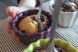 cake poire chocolat (pastis de peras y xocolata)