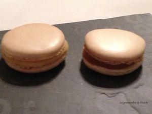 macarons au caramel beurre salé de Christophe Felder une tuerie!!!!