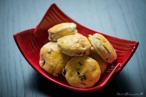 Jeudi des internautes : Cyrille et sa version de mes scones aux raisins