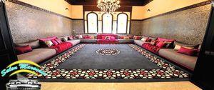 Salon marocain super surface design salon, décor salon, décoration ...