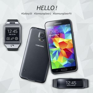 Flash : Le Samsung Galaxy S5 dévoilé