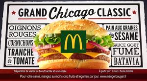 Nouvelle publicité : Le Grand Chicago Classic (McDonald's)