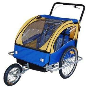 Choix remorque à vélo convertible jogger