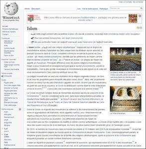 L'image de l'islam sur Wikipedia