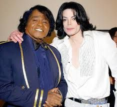 James BROWN avec michael JACKSON