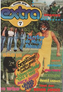 EXTRA, GOLD, ENCYCLOROCK : revues musicales (1970 - 1976)