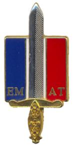 L'état-major de l'armée de terre.