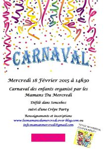 Le Carnaval approche...
