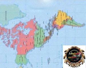 Géomancie ou astrologie amérindienne grandeur nature un présage pour la sauvegarde de notre planète?