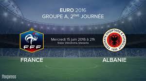 Pronostic France-Albanie 15 juin 2016 à 21h Stade Vélodrome à Marseille