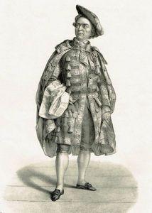 Monrose dans l'Etourdi de Molière.