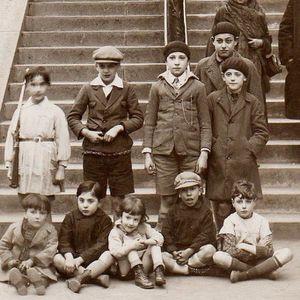 Rue Utrillo. Rue Muller. François Gabriel. Photos d'un enfant de 1920 à 1932.