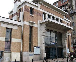 Gare de Gentilly. Brachet (1933)