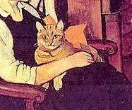 Suzanne Valadon et les chats rue Cortot. Raminou.