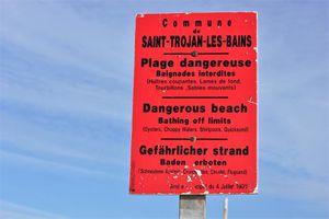 Saint Trojan. La Grande Plage. La plage naturiste. 2016.