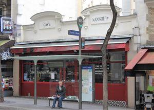 Rue Custine (Montmartre) 2ème partie. De la rue Ramey à la rue Caulaincourt.