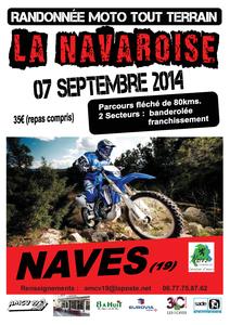 Rando moto &quot&#x3B;La Navaroise &quot&#x3B; à Naves (19) le 7 septembre 2014