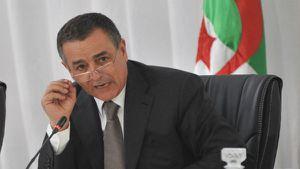 ABDESLAM BOUCHOUAREB, MINISTRE DE L'INDUSTRIE ET DES MINES (© NEWPRESS)