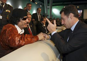 Kadhafi sur France 3: «Je lui ai donné l`argent avant qu`il ne devienne président... »