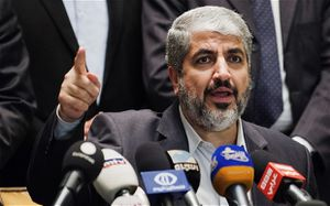 Khaled Meshaal, leader politique du Hamas