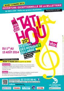 Normandie: Les Traversées de Tatihou concerts gratuits le 13 mars !