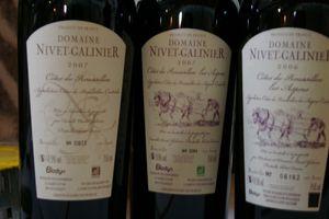 domaine Nivet-Gallinier vin en biodynamie!