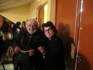 Antoine Sarda avec une fan