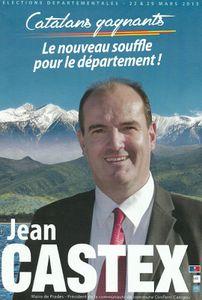 Avant-garde:La vidéo de Jean Castex, UMP, maire de Prades, candidat aux départementales!
