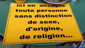 Les principes de la république, tous égaux en tant que citoyen français
