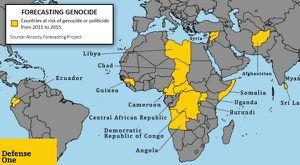 OÙ SE DÉROULERA LE PROCHAIN GÉNOCIDE? La Guinée sur la liste d'après une étude