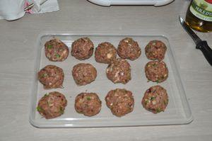 Mes petites boulettes de boeuf !!!!