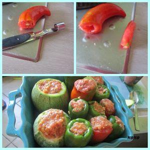 tomates longues farcies