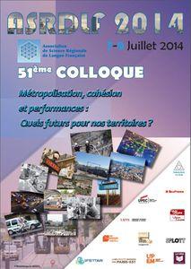 Découvrez le programme du colloque 2014 de l'ASRDLF