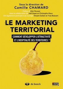 Couverture livre Camille Chamard Marketing territorial