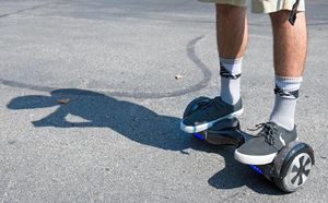 Hands-free electric scooters gain in appeal for entertainment, transportation