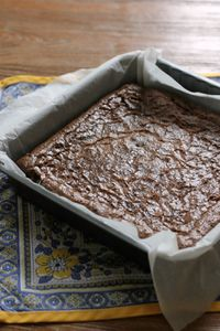 Brownie au choc' selon Lenôtre