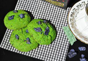 Cookies Thé Vert Matcha &amp&#x3B; Violette
