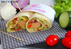 Les Veggie Wraps (Wraps Végétariens au Tofu) 2.0